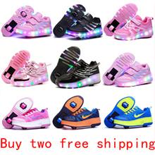 Best Gift ♥ Roller Shoes ♥ wheel ♥ skating shoes ♥ kids wheels ♥ Sneakers ♥ Girls ♥ Boys ♥ toys light play Children