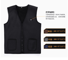 USB Carbon surface heating vest / heating warm vest charging Usb electric heating vest clothing ★ after the inspection of the self-inspired air transport slim fit