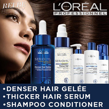 ★NEW★ 1 LITRE★ LOREAL SERIOXYL Hair Care For Thinning Hair★ Shampoo/Conditioner★Foam★Serum