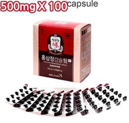 [CNY]Cheong Kwan jang Korean Red Ginseng Extract Capsule  500mg x 100 Capsule new