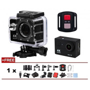 Ultra HD 4K 30fps WiFi Sports Camera 2-inch LCD Action Cam Camcorder 30-Meter Waterproof Sport DVR H