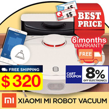Promotional Offer  Xiaomi Gen 1 Robot Vacuum with Local Warranty -  MinihelpersSG fc1950ed0293
