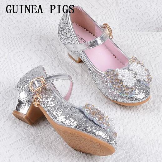 kids glitter pumps