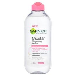 Garnier Micellar Water Pink 400ml (For Sensitive Skin)