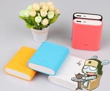 Colorful Silicone Case Original Xiaomi Powerbank 10400 mAh