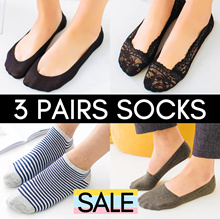 ⭐SUPER SALE ⭐3 PAIRS SOCKS BUNDLE ⭐ WOMEN / MEN ⭐ ANKLE / INVISIBLE ⭐ BEST SELLER ⭐