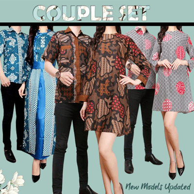 Batik Couple Collection Deals for only Rp135.000 instead of Rp135.000