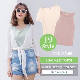 TOKICHOI - Trendy Tops Blouses Multi Styles Women Fashion Flash Deal