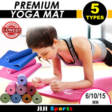 ★★YOGA MAT★★NBR/PVC/TPE★★Extra Thick 6/10/15 ★★Yoga Mat★★Fast Delivery★★ Sports Mat / Gym Mat