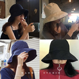 0e33211c620 Search in Detail. search. ○MAOMAO○ Local Foldable Shipping Holiday Travel  Sea beach Essential Sun block UV protect hat