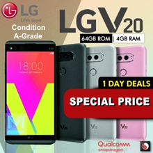 LG V20 | 64GB ROM | 4GB RAM | Quad Core | Snapdragon 820 | 4GB RAM | Refurbished set