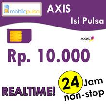 Pulsa Axis Rp. 10.000- REALTIME 24 jam non-stop! Menambah Masa Aktif (Mohon baca cara pengisian