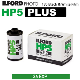 Ilford HP5 Plus 135 35mm Black and White Negative Film 36 Exposures