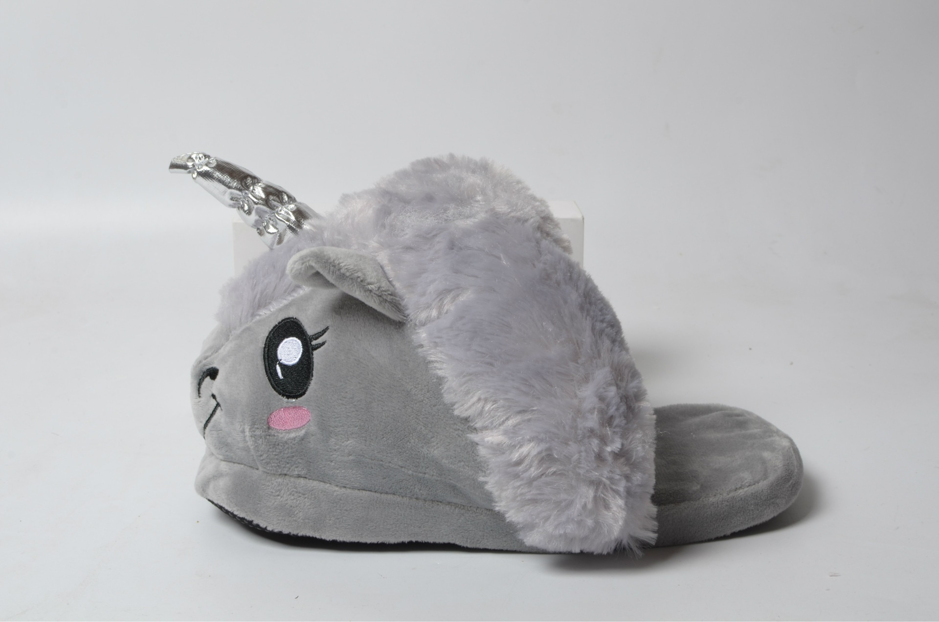 32a0d0f1c72 fit to viewer. prev next. New Unicorn Slippers Kids Winter Warm Plush Baby  Boy Girls Slippers Cotton Children Home Shoes