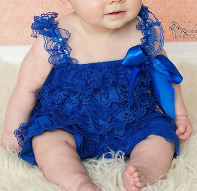 cc0bb2cf5e83 wholesale Baby Girls Lace Ruffled Romper Toddler Infant Jumpsuit Cake Smash  Outfit Baby 1st Birthday
