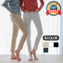 [CANMART] 4Color short / long Type women pants collection (spring skinny) MA01151