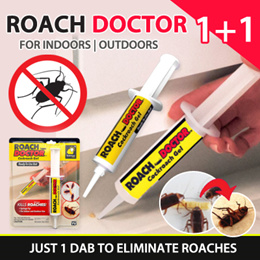The Amazing Roach Bait That Kills  Rids Your Home of Roaches! Roach Doctor Cockroach Bait