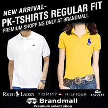 🔼90000 buy 🔼3000 review / Brandmall ®️ Tommy Hilfiger / POLO / Lacoste ®️ Unisex PK T-Shirts Collection