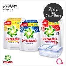 [PnG] [Free Joy Glass Container] Dynamo Power Gel Liquid Detergent Pouch / 2.4kg / 2.7kg / Wash