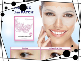 Aeria Skin Rejuvenating & Firming Eye Mask 3 Packs with Organic Edelweiss Extract (Size: 30 ml)