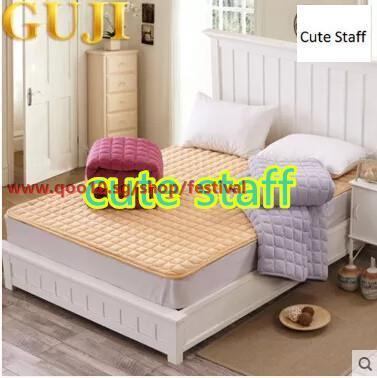 Coral velvet tatami mattress mattress son single dormitory quilted mattress foldable