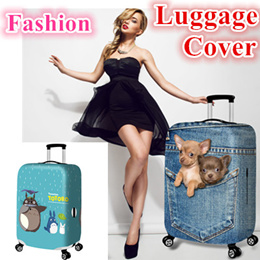 Fashion Travel Luggage Bag Protector Cover* Elastic Luggage Cover high quality waterproof Christmas