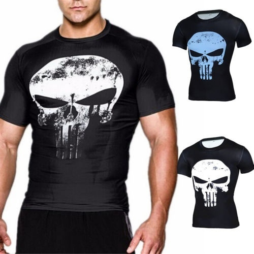 the punisher t shirt under armour