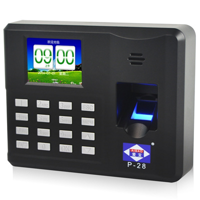 fingerprint attendance punch card machine type fingerprint attendance  machine easy installation