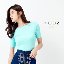 KODZ - Basic Knit Top-172005