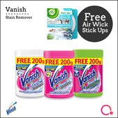 [RB]【FREE Spin Mop worth $29.90】Vanish Laundry Stain Remover Series |Stocks from Singapore
