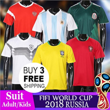 FIFA World Cup 2018 SOCCER JERSEY/SUIT/ADULT/KIDS Germany / Spain / Argentina Japan