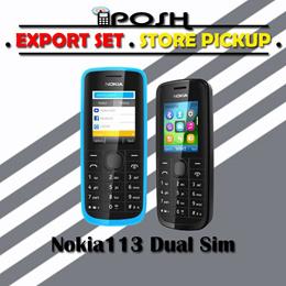 NOKIA 113 Dual Sim EXPORT SET without WARRANTY!