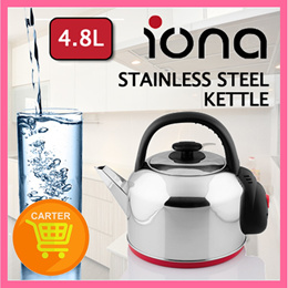 Iona 4.8L Stainless Steel Kettle - GLK4800 (1 Year Warranty)