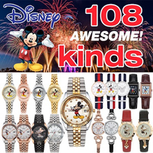 ★PROMOTION★[Disney]  Best 108 style ★metal leather watch collection♡♥ Mickey watch big sale/free shi