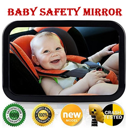 227663a58b9e COUPON  baby safe infant car seat rear-view mirror reverse mirror Childcare baby  car mirrors