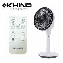 KHIND Air Circulator Standing Fan 9&quot  With Remote Control (JAC91RN)