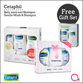 [Cetaphil]【FREE Baby and shampoo set】Cetaphil Baby - Gift set | Direct from Cetaphil official