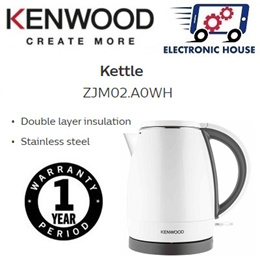 ★ Kenwood ZJM02.A0WH 0.8L Cool Touch Kettle ★ (1 Year Singapore Warranty)