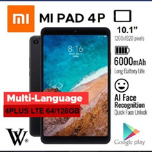 XIAOMI MIPAD 4/Tablet/WIFI/LTE/ MI Pad 4 Plus 64GB/ 128GB