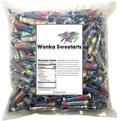 Wonka Sweetarts Twist Wrap 3 Lb Bag
