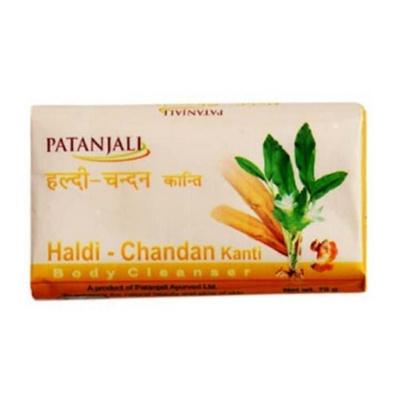 Patanjali Haldi Chandan Kanti Body Cleanser Pack Of 3 150 Gm bathing Soap