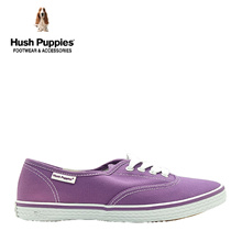 Hush Puppies SG Limited Edition Carla Canvas Sneakers (Women- Purple)
