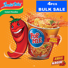 NEW ARRIVAL * GET 4 PCS Pop Noodle Dough spicy chicken spicy chicken flavor 75gr Instant noodles cup noodles