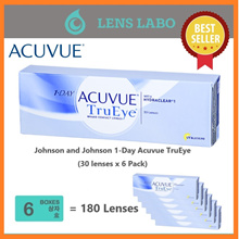 [Free Shipping] Johnson and Johnson 1-Day Acuvue TruEye (30pcs/box) x6