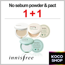 ▶innisfree◀ NO-SEBUM LINE ▶1+1◀LOWEST PRICE with CART COUPON▶Mineral / Blur / Powder / Pact◀