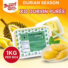 XO Durian Puree  [1KG/BOX]