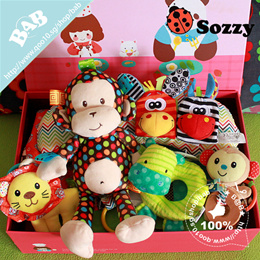 ★Exclusive Seller★Sozzy Baby Toy Toys/wrist rattle foot finders/pillow/hand rattle/hanging toy/bag