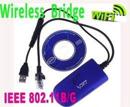 Vonets VAP11G RJ45 WIFI Bridge/Wireless Bridge For Dreambox Xbox PS3 PC Camera TV Wifi Adapter