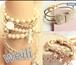 Korea retro sweet pearl bracelet bride bracelet female couple Korean version of multi-layer small jewelry wholesale jewelry