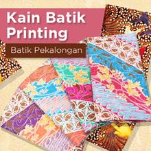 Motif batik printing tanpa emboss - Kualitas Tinggi - Batik Pekalongan